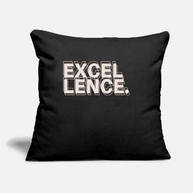 "Excellency Excellency - Throw Pillow Cover 18"" x 18"""