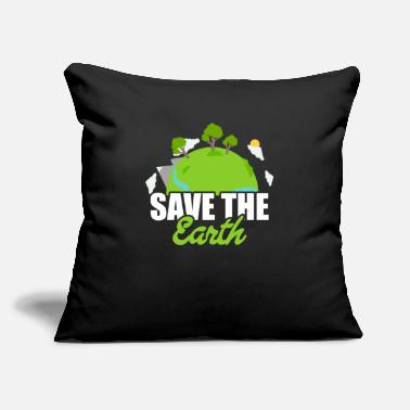 "22 Earth Day / Earth Day future gift idea - Throw Pillow Cover 18"" x 18"""