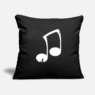 "Note Clue Note funny - Throw Pillow Cover 18"" x 18"""