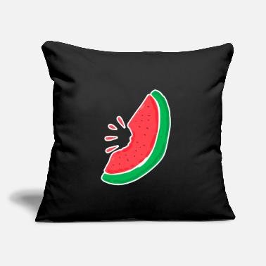 "Island Summer Watermelon Holiday Chill - Throw Pillow Cover 18"" x 18"""