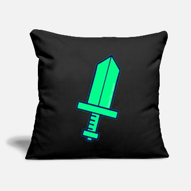 """Ramseys Glowing Sword"" - Throw Pillow Cover 18"" x 18"""