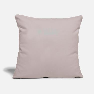 "Trace Trace Elliot - Throw Pillow Cover 18"" x 18"""