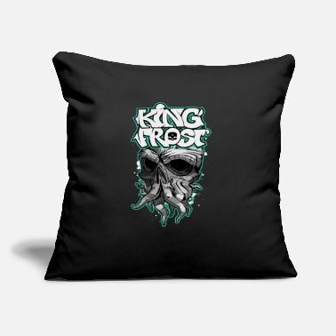 "Frost King Frost - Throw Pillow Cover 18"" x 18"""