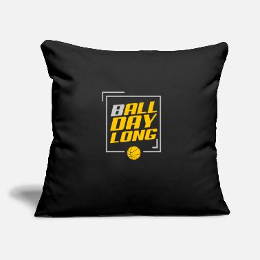 "Game Ball Game Ball - Throw Pillow Cover 18"" x 18"""