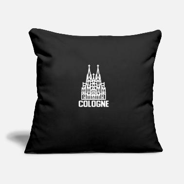 "Cathedral Cologne Cathedral - Throw Pillow Cover 18"" x 18"""