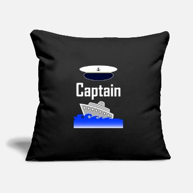 "Captain Captain - Throw Pillow Cover 18"" x 18"""