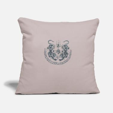 "Tatoo Tatoo - Throw Pillow Cover 18"" x 18"""