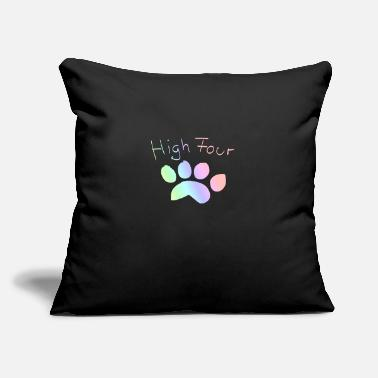 "Paw - Throw Pillow Cover 18"" x 18"""