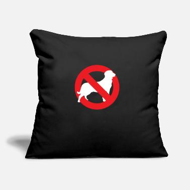 "Allowed dogs Allowed - Throw Pillow Cover 18"" x 18"""