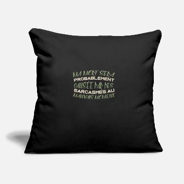 "Spanish Quote spanish quote - Throw Pillow Cover 18"" x 18"""