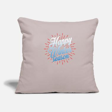 "Snowflake snowflake - Throw Pillow Cover 18"" x 18"""