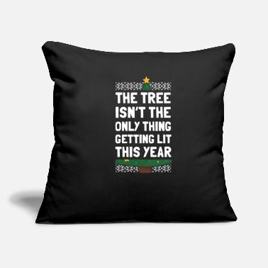Bad Christmas Advent Santa Gift - Throw Pillow Cover