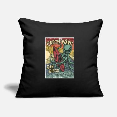 "Franzis Selection Surfing - Throw Pillow Cover 18"" x 18"""