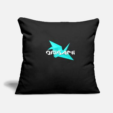 "Origami origami - Throw Pillow Cover 18"" x 18"""
