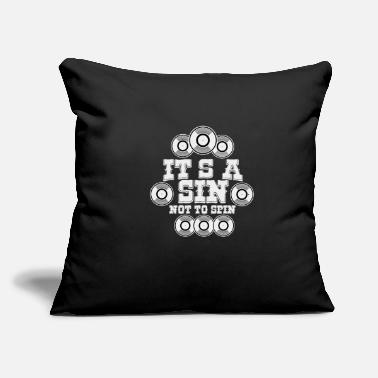 "Record records - Throw Pillow Cover 18"" x 18"""