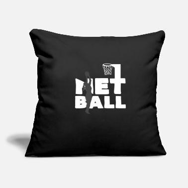 "Netball Netball - Throw Pillow Cover 18"" x 18"""