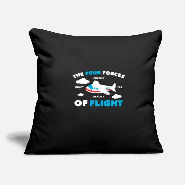 "Steward Flight Attendant Flight Attendant Steward Stewarde - Throw Pillow Cover 18"" x 18"""