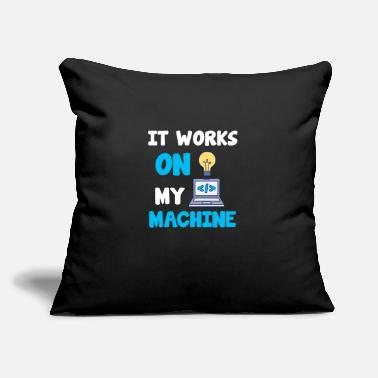 "Program-what-you-do Machine Programmer Computer Science Code Html Gift - Throw Pillow Cover 18"" x 18"""