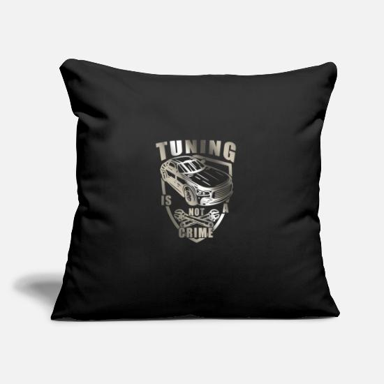 "Easter Pillow Cases - Tuning - Throw Pillow Cover 18"" x 18"" black"