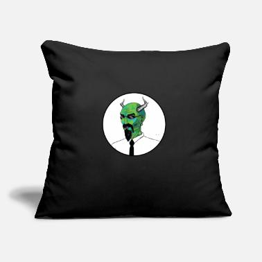 "Corporate corporate demon - Throw Pillow Cover 18"" x 18"""