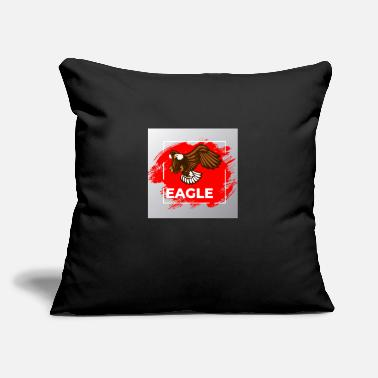 "EAGLE - Throw Pillow Cover 18"" x 18"""