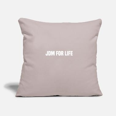 "Jdm JDM - Throw Pillow Cover 18"" x 18"""