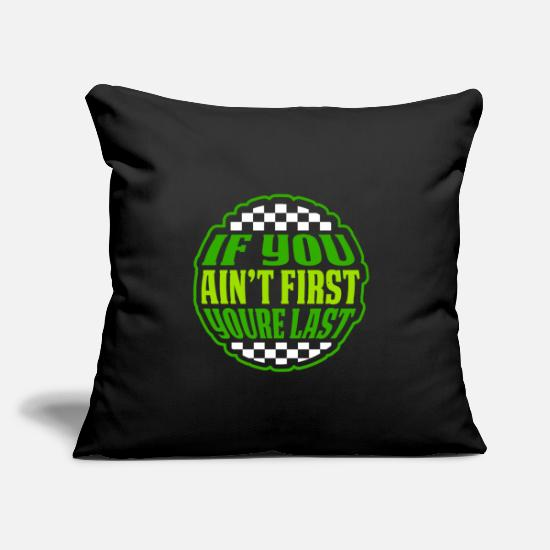 "Loser Pillow Cases - Only One Winner First Second Start Loser Fun Gift - Throw Pillow Cover 18"" x 18"" black"