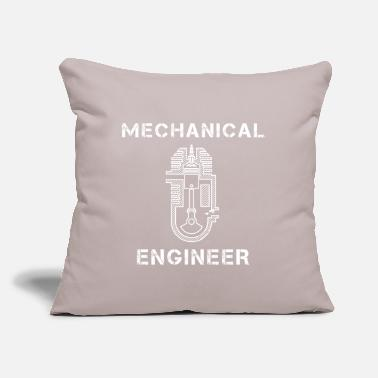 "Engine Four-stroke engine engineering engineer - Throw Pillow Cover 18"" x 18"""