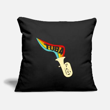Instrument tuba instrument - Throw Pillow Cover