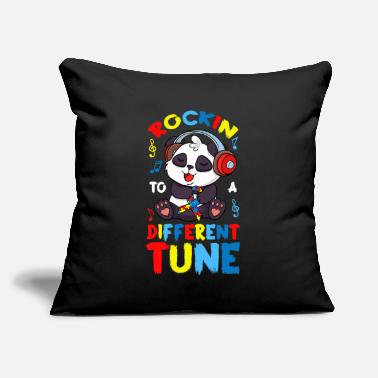"Rockin To Different Tune - Throw Pillow Cover 18"" x 18"""