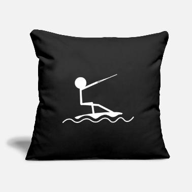"Wakeboard Wakeboarding wakeboard - Throw Pillow Cover 18"" x 18"""