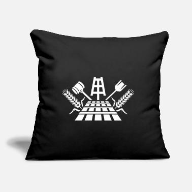 "Brewery Beer Brewery - Throw Pillow Cover 18"" x 18"""