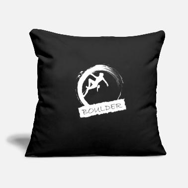 "Boulder Boulder - Throw Pillow Cover 18"" x 18"""