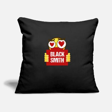 "Farrier Funny Blacksmith - Love - Farrier Metalsmith - Throw Pillow Cover 18"" x 18"""