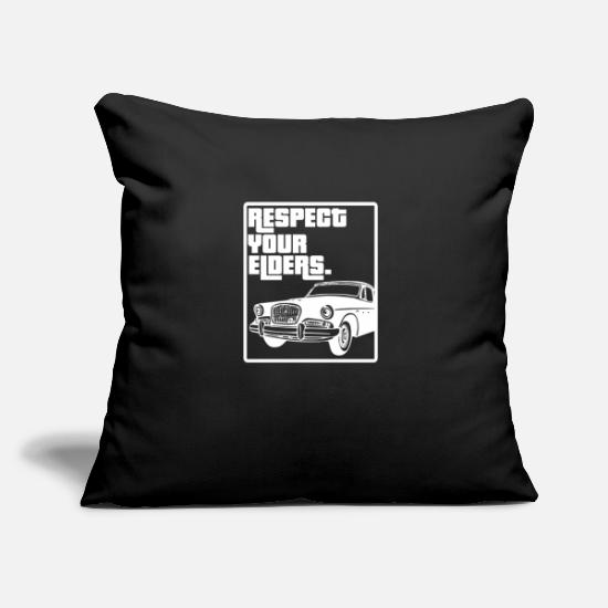 "Love Pillow Cases - Car Tuning Lover Motor Garage Workshop Cool Gift - Throw Pillow Cover 18"" x 18"" black"