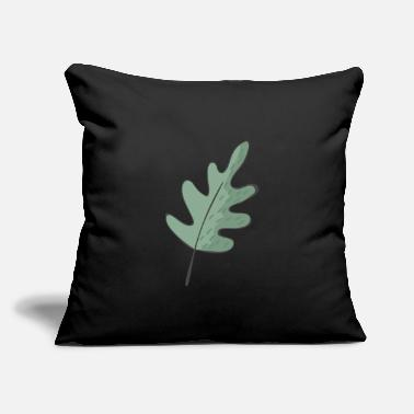 "Leaf Leaf - Throw Pillow Cover 18"" x 18"""