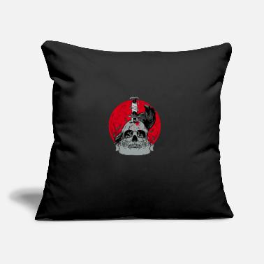 "Bloody Bloody moon - Throw Pillow Cover 18"" x 18"""