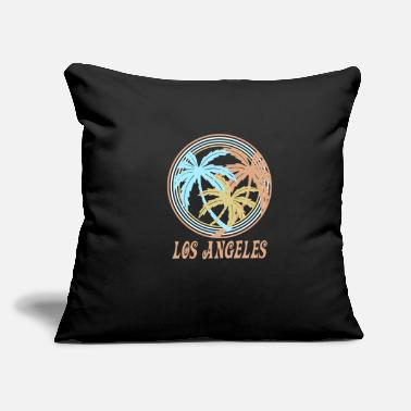 "Los Angeles Los Angeles - Throw Pillow Cover 18"" x 18"""