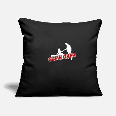"Game Over Game over - Throw Pillow Cover 18"" x 18"""