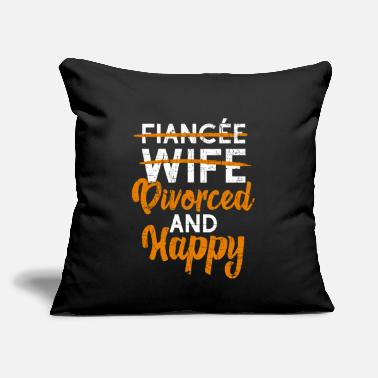 "Divorce Party Divorce design Divorce Party Gift For Recently - Throw Pillow Cover 18"" x 18"""