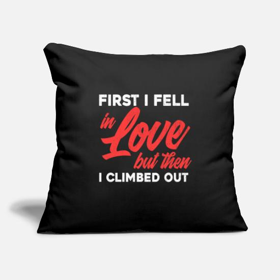 "Divorce Pillow Cases - Funny Recently Divorced Divorce print Party Gift - Throw Pillow Cover 18"" x 18"" black"