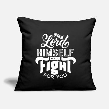 "The Ministry Fight for you 2 - Throw Pillow Cover 18"" x 18"""