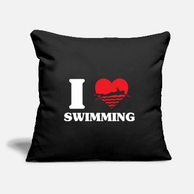Swim Swimming - Throw Pillow Cover