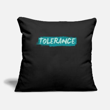 "Afro Tolerance Anti-Racist Equality Afro Cool Gift - Throw Pillow Cover 18"" x 18"""