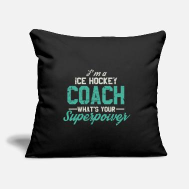 "Hockey Slang Hockey - Throw Pillow Cover 18"" x 18"""
