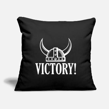 "Victory Victory! - Throw Pillow Cover 18"" x 18"""