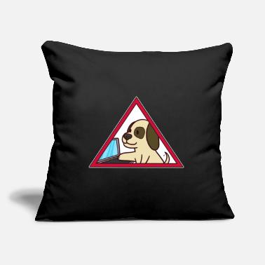 Police programmer program nerd gift hacker code - Throw Pillow Cover