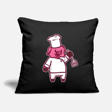 Cuisine cook gift idea cooking recipes food dish meal - Throw Pillow Cover