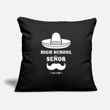 High School Graduate High School Señor: Class of 2019 - Graduation Gift - Throw Pillow Cover