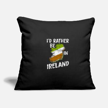 "Attractive Ireland - Throw Pillow Cover 18"" x 18"""
